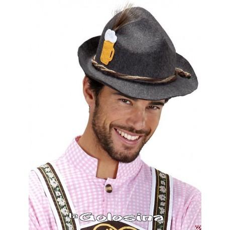 Sombrero Tiroles con pluma