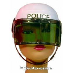 Casco policia antidisturbios