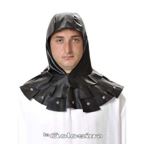 Capucha negra medieval