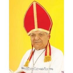 Somb. Tiara Obispo roja