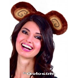 Diadema de mono (chimpance, orangutan).