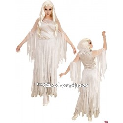 Disfraz Ad. Espiritu fantasma Novia Fantasma
