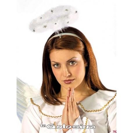 Diadema Marabu blanco (angel).