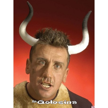 Diadema Cuernos Toro.