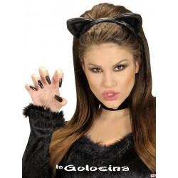 Diadema de gato negro.