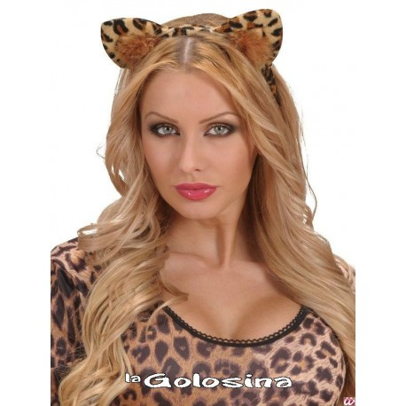 Diadema de leopardo.