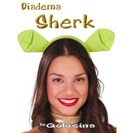 Diadema Sherk (orejas verdes).