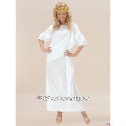 Disfraz Ad. Olympia (tunica blanca).