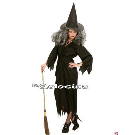 Disfraz Ad. Bruja falda larga