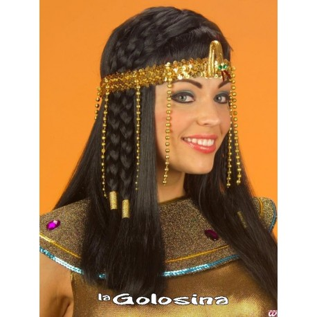 Cinta Cleopatra lentejuelas colgantes de bolas.
