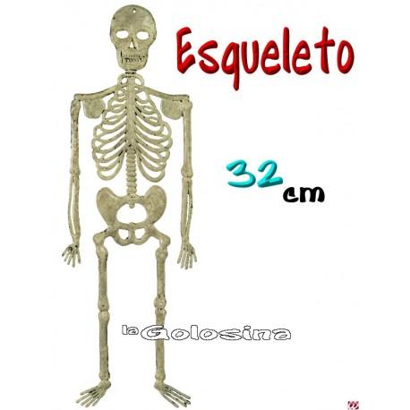 Esqueleto plastico 32 cm.