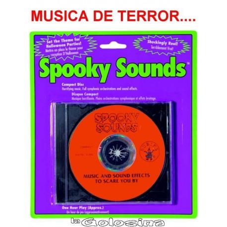 CD sonidos de terror