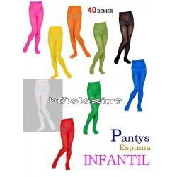 Pantys Espuma INFANTIL - 40 Denier.