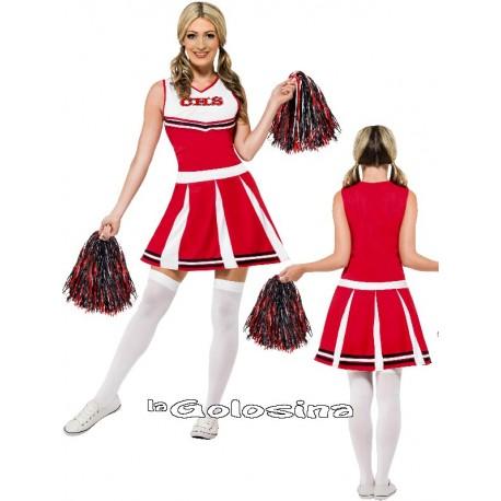 Disfraz Ad. Animadora (Cheerleader)
