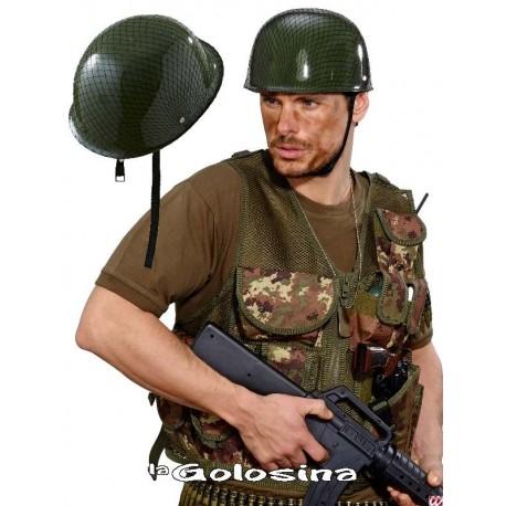 Casco Militar con malla
