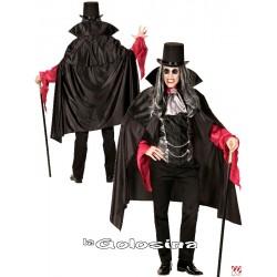 Disfraz Ad. Vampiro con capa