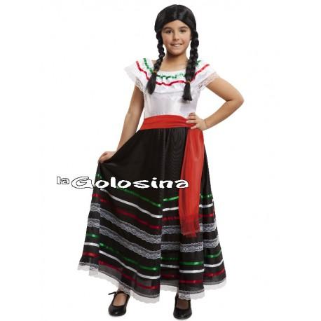 Disfraz Inf. Niña: Mexicana (mejicana)