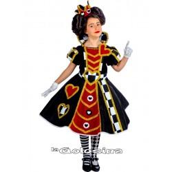Disfraz Inf. Niña: Reina de Corazones