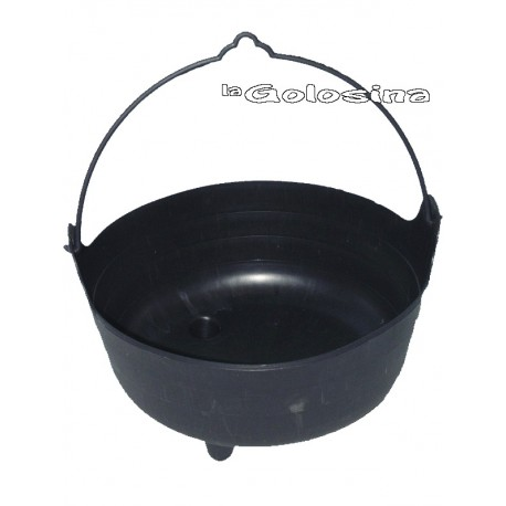 Caldero negro 38 cm diametro (Witch's cauldron)