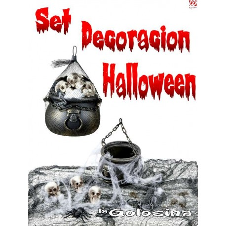 Set Decorativo Halloween.