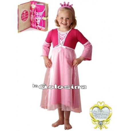 Disfraz Inf. Nina Princesa rosa Pijama