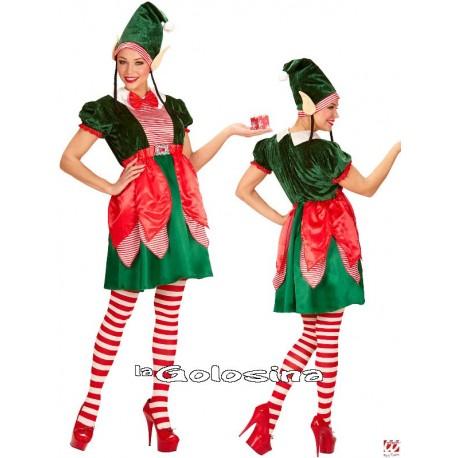 Disfraz Elfo ayudante de Papa Noel