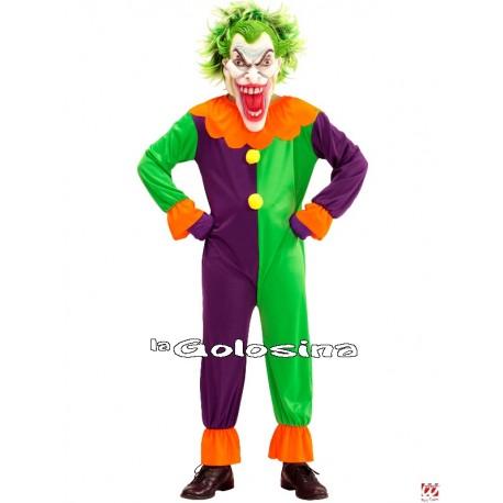 Disfraz Niño: Payaso Asesino, Joker Maligno