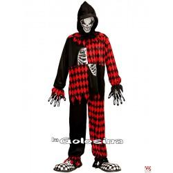 Disfraz Niño: Evil Jester, Payaso Diabolico