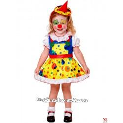 Disfraz Niña: Payasita