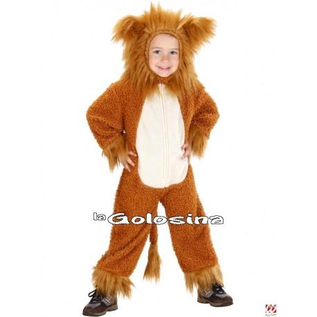 Disfraz Niñ@: Leoncito Fuzzy