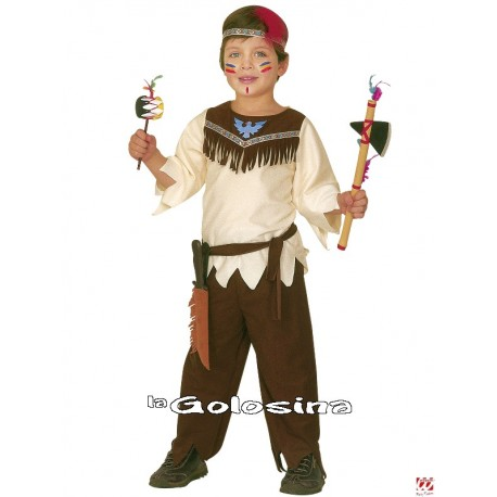 Disfraz Niño: Indio