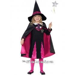 Disfraz Niña: Bruja Colegiala