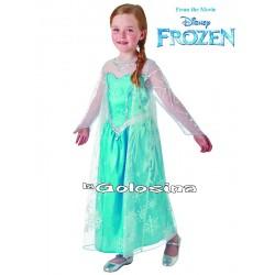 Disfraz Inf. Nina Elsa Frozen DISNEY