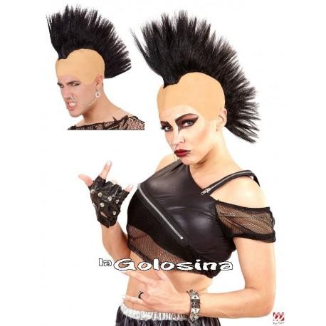 Calva con Cresta Punk