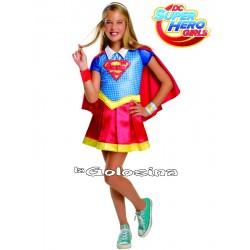 Disfraz Niña: SuperGirl Deluxe - LICENCIA