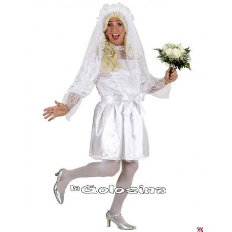 Disfraz Ad. Novia chico boda