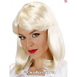 Peluca 70s Pop Star Agnetha