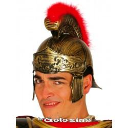 Casco Romano dorado