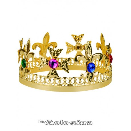 Corona Dorada de Metal nº 3