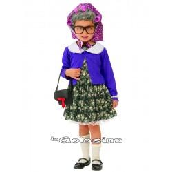 Disfraz Niña: Abuela, abuelita.