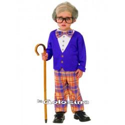 Disfraz Niño: Abuelo, abuelito.