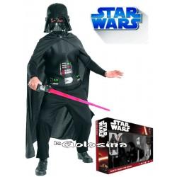Disfraz Niñ@: Darth Vader + Espada (LICENCIA). Star Wars. 2