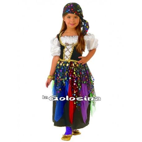 Disfraz Niña: Zingara.
