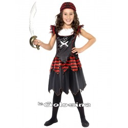 Disfraz Niña: Pirata. 2