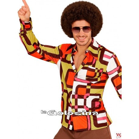 Camisa Hombre Groovy años 70 - Tubes