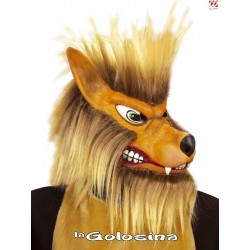 Mascara Lobo con pelo.