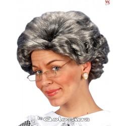 Peluca Agatha, abuela moderna.