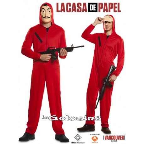 Disfraz La Casa de Papel (LICENCIA).