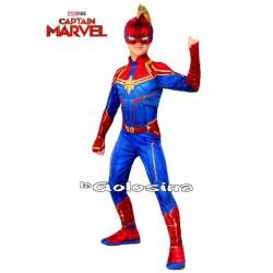 Disfraz Niña: Capitana Marvel (LICENCIA).