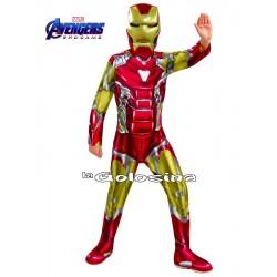 Disfraz Niño: Ironman (LICENCIA).
